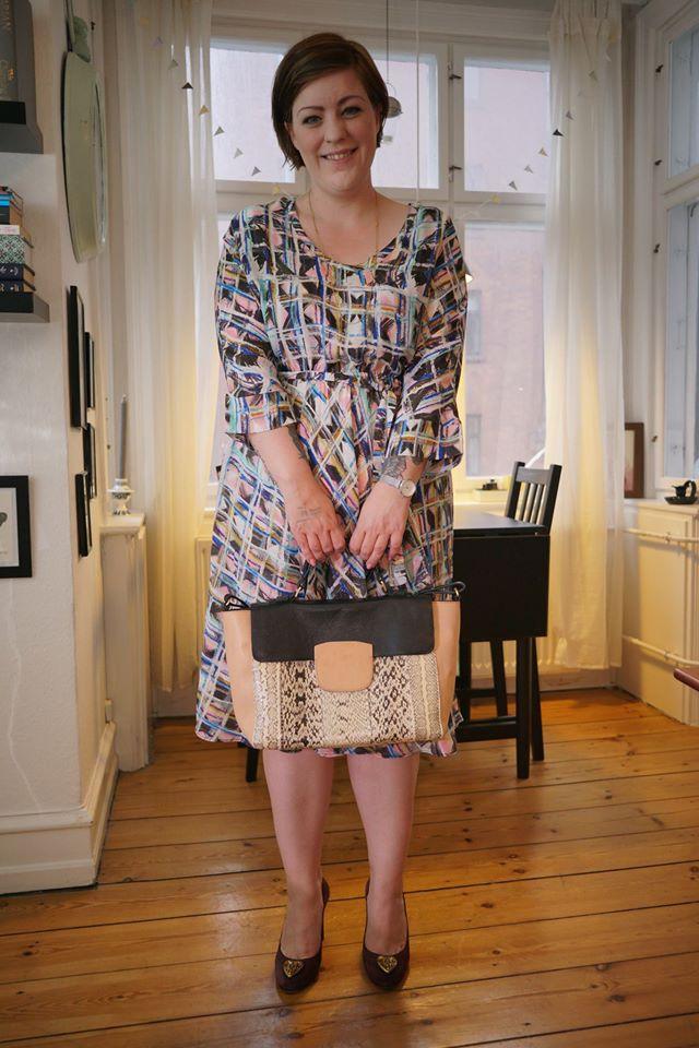 Er min nye Malene Birger taske ikke fin?